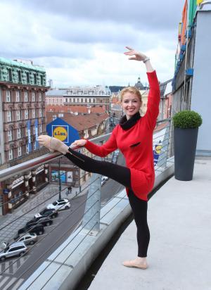 Adéla Pollertová, primabalerina