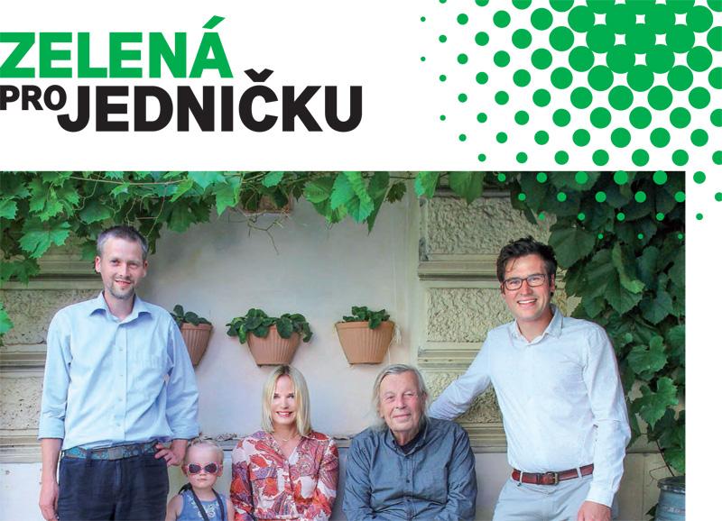 Noviny Zelené pro jedničku